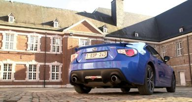 DK Production : Caméraman, réalisateur, monteur à Liège, Belgique: Test - Subaru BRZ (TFE)